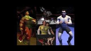 """LEGENDS OF WRESTLING II: Jerry """"the king"""" Lawler/Andy Kauffman storyline in career mode"""