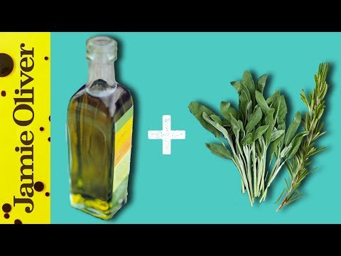 How To Flavour Olive Oil   1 Minute Tips   Akis Petretzikis
