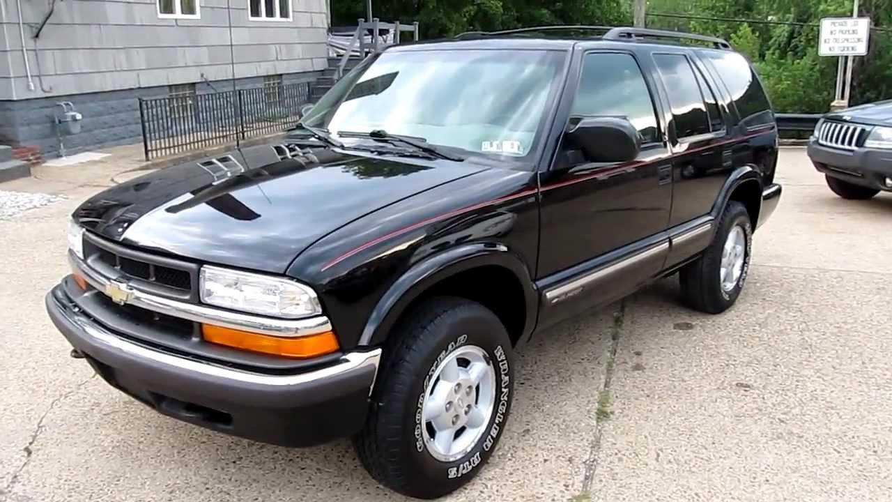2000 Chevrolet Blazer LS 4x4 Elite Auto Outlet Bridgeport Ohio - YouTube