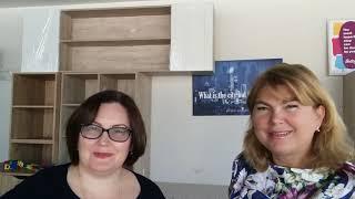 Iryna Kobets. Furniture Salon IVI. In Ukrainian