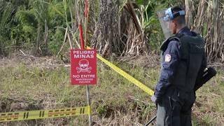 Granada será declarado oficialmente municipio libre de sospecha de minas antipersonas