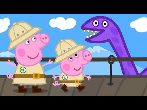 Peppa Pig English Episodes | Peppa Pig's and George's Dino Adventures! Peppa Pig Official