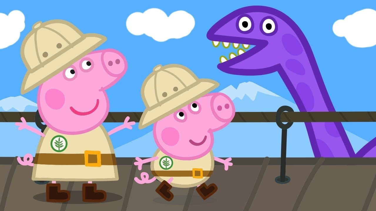214327da Peppa Pig Official Channel | Peppa Pig and George Pig's Dino ...