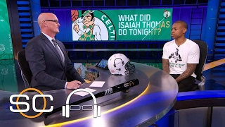 Isaiah Thomas Will Always Have A Chip On His Shoulder | SC with SVP | February 7, 2017