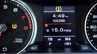 TPMS - Tire Pressure Monitoring Instruction