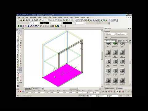 TurboCAD Furniture Maker – Particular elements Office cabinet
