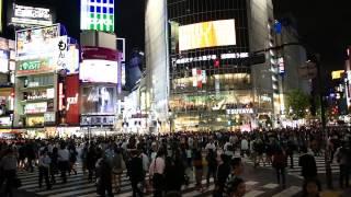 Shibuya Crossing - Tokyo's Time Square