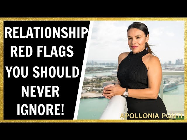6 Red Flags In Relationships You Should NEVER Ignore!