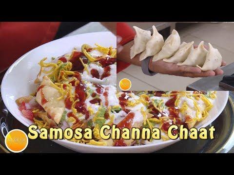 Channa And Samosa Chat