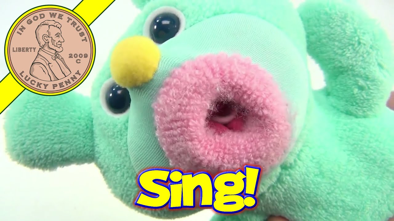 Fisher Price Vintage Sing-A-Ma-Jings Singing Plush Toys  All Work great Choice
