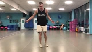 Урок №14 - Обучалка Шафл - Charleston dance - fake step