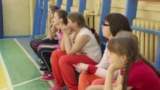 Урок физкультуры в гимназии №4, 4 а класс