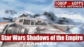 Star Wars Shadows of the Empire GoG gameplay PC HD [1080p/60fps]