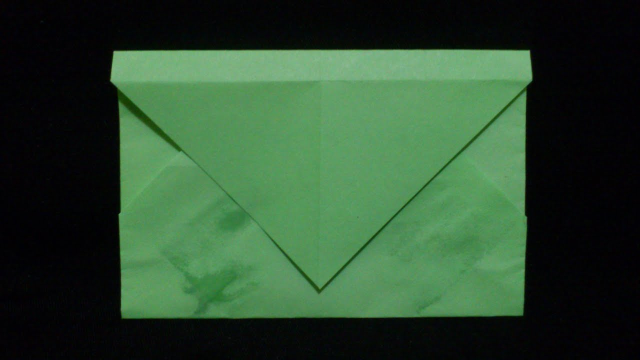 Cara Membuat Origami Amplop   Origami Alat