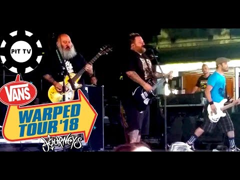 Bowling For Soup Girl All The Bad Guys Want  2018 Vans Warped Tour