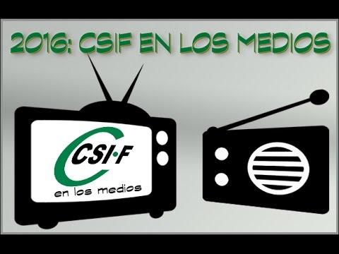 Vídeo resumen 2016 - CSIF Madrid en TV y radio