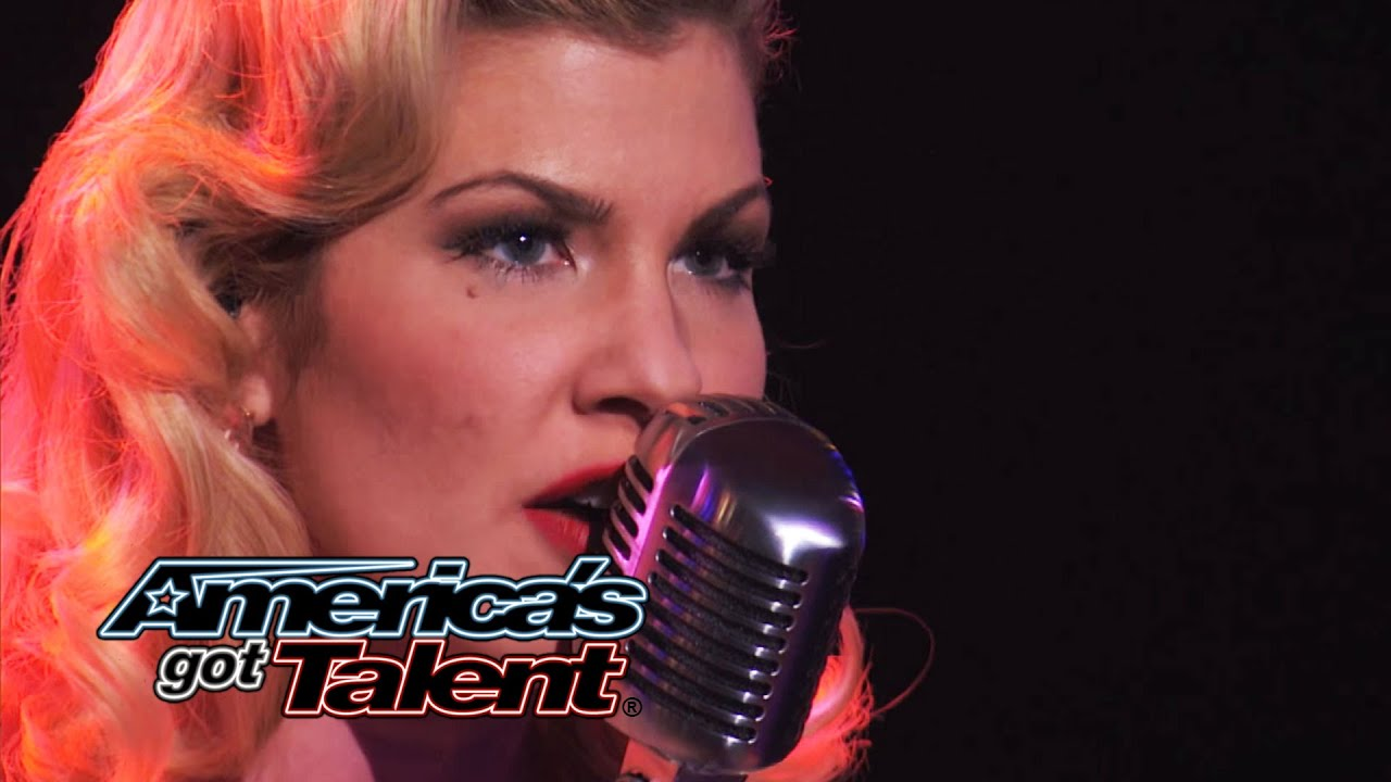 Emily West Sultry Songstress Performs Chandelier Cover America S Got Talent 2017 You
