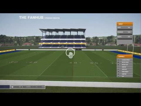 Rugby League Live 4 - Fan Hub (Stadium Creator)