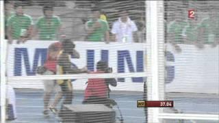 Finale du 4x100M. Daegu 2011. France médaille d'argent.