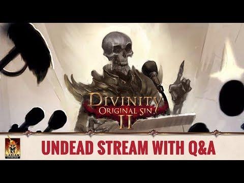 Divinity: Original Sin 2 - Reveal of the Undead Stream
