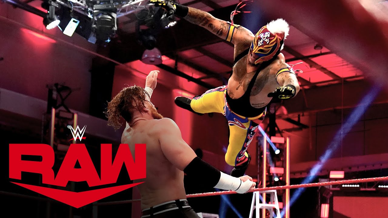 Rey Mysterio Vs Murphy Money In The Bank Qualifying Match Raw April 20 2020 Youtube