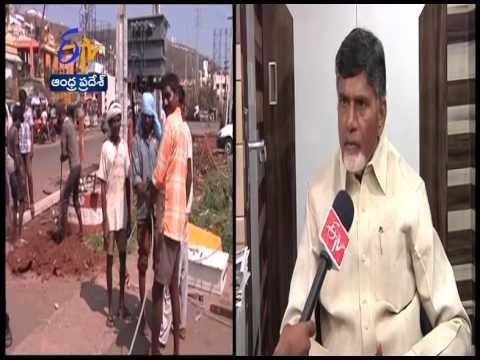 AP CM Chandrababu Naidu Interview On Cyclone Hudhud Aftermath: ETV Exclusive