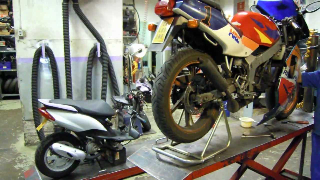 Taller de reparacion de motos motorapid barcelona youtube - Reparacion baneras barcelona ...