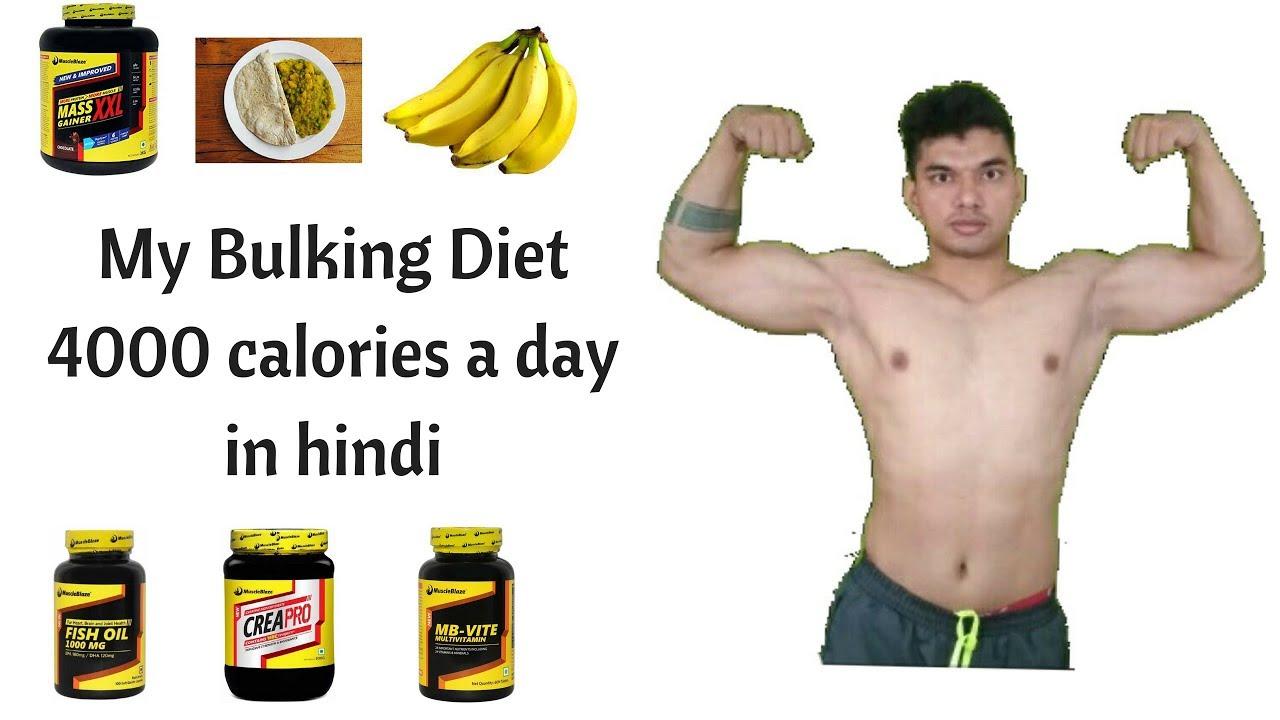 My Bulking Diet 4000 Calories Diet 4000 Calories A Day