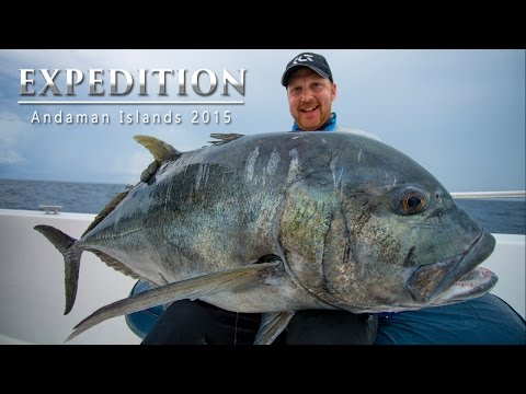 Popping & Jigging Andamans Expedition 2015 - Full Film