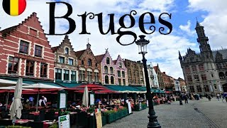 #6 VLOG : Une journée à Bruges - La petite Venise Belge / Août 2017