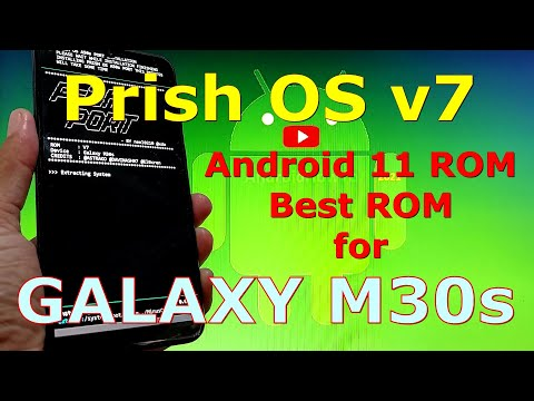 Prish OS v7 Best ROM for Samsung Galaxy M30s Android 11