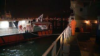 Tin: Cứu nạn thành công 7 thuyền viên bị chìm tàu trên vùng biển Hoàng Sa
