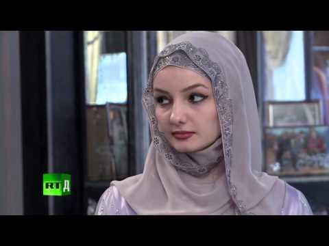 Chechnya muslim women