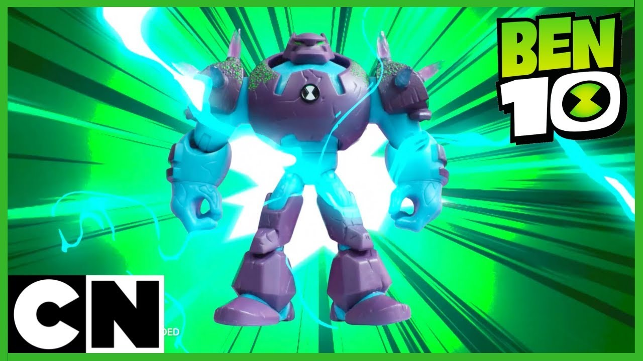 Mainan Ben 10 Shockrock Vs Vilgax Cartoon Network Youtube Maainan Doraemoon Kyutt