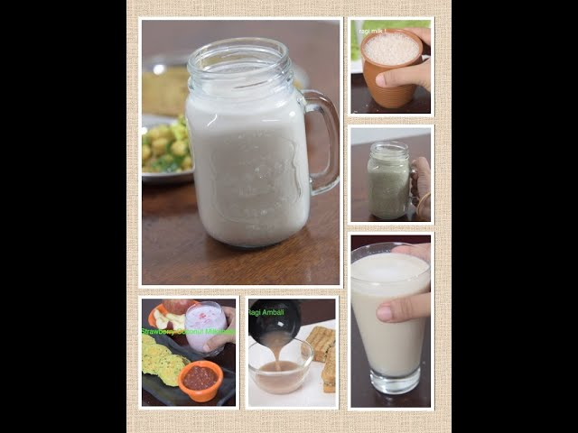 6 healthy breakfast drinks | easy and healthy breakfast juices/smoothies | instant breakfast ideas