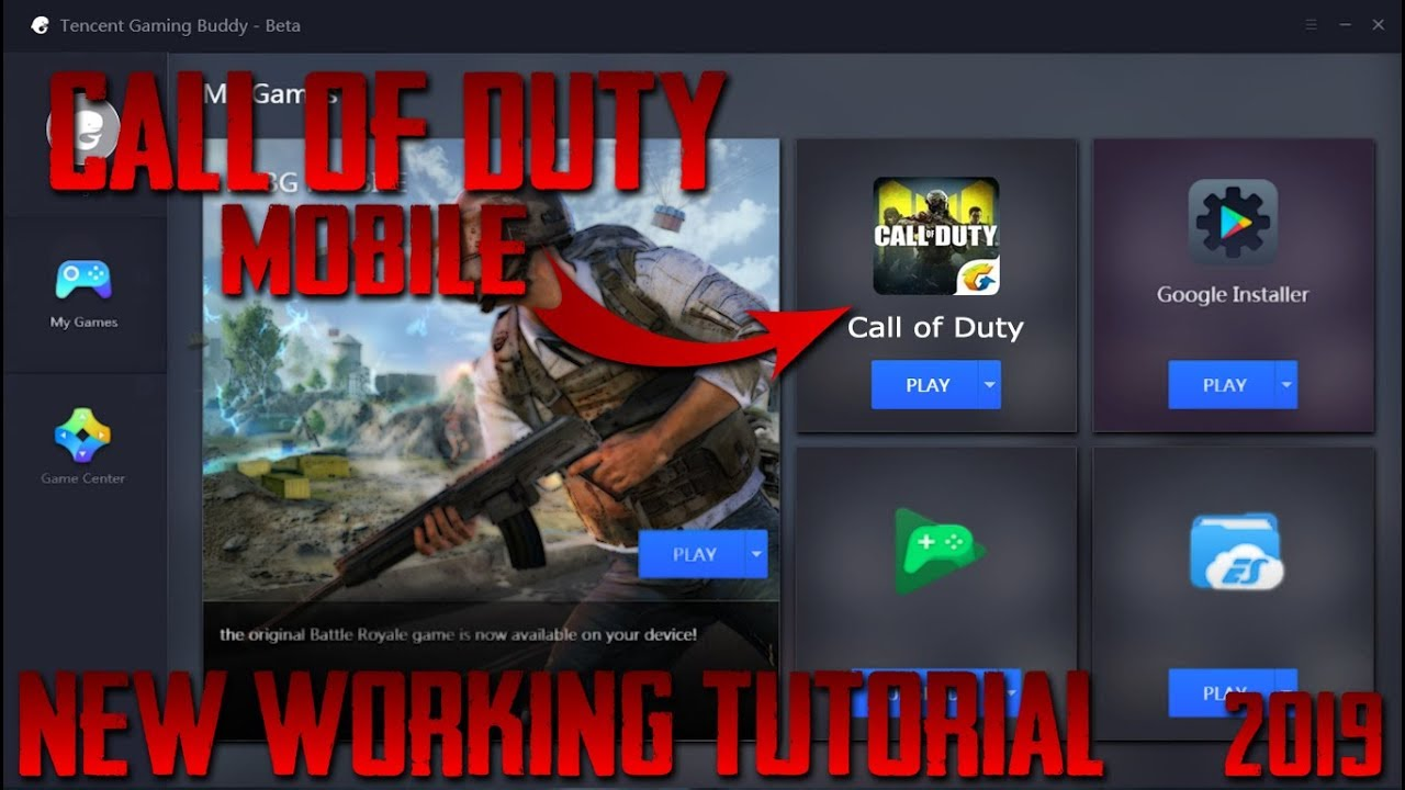 Play Call of Duty Mobile on Tencent Gaming Buddy | New Tutorial | Fix  Requirement Error - Gaming Gods