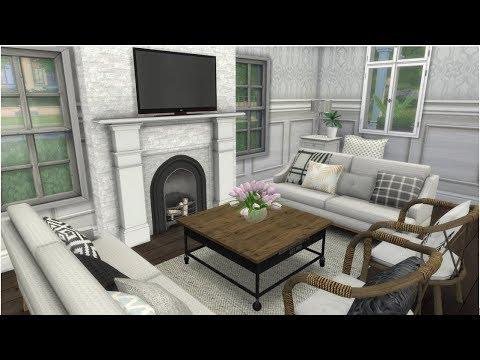 WHITE & CLEAN | Part 1 | Sims 4 | Merysan1999