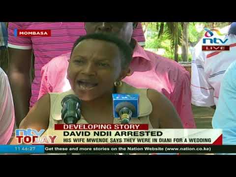 David Ndii's wife special appeal to President Uhuru Kenyatta