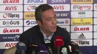 Ali Koç'tan, Mustafa Cengiz'e sert sözler I Fenerbahçe - Galatasaray