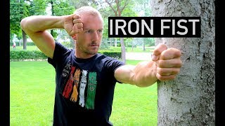 Turn Your FINGERS & HANDS into IRON Using a TREE | REAL IRON PALM