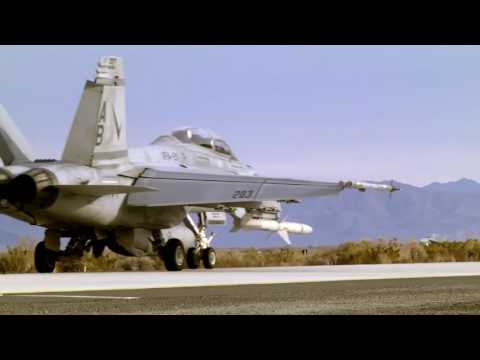 F A 18 Super Hornet  Taxi and Takeoff  Naval Air Station Fallon Nevada HD