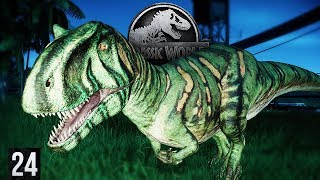 ARE MY DINOSAURS BECOMING WEAPONS?  | Jurassic World: Evolution (Gameplay Part 24)