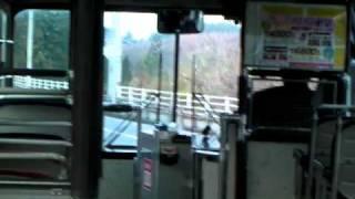 isuzu k cjm accent 南部バス いすゞk cjm 登坂車線