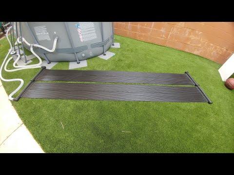 XtremepowerUS Solar Pool Heating System Installation