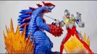【中国限定】ウルトラマンティガ サウンドアクションシリーズ レビュー ベータスパークアーマーセット Ultraman Tiga  Action Sound Figure Ultraman X