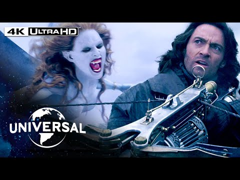 Van Helsing   Fighting Dracula's Brides in 4K HDR