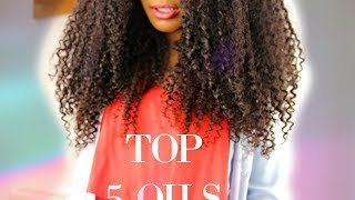 Top 5 oils for crazy hair growth