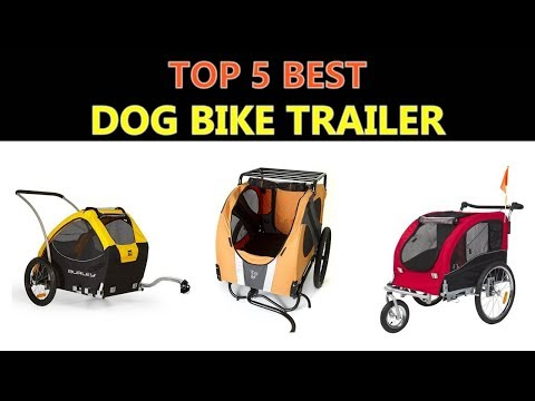 best-dog-bike-trailer-2019