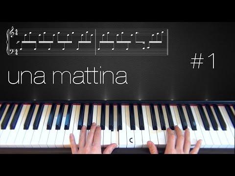 Una Mattina ~ Piano Tutorial ~ Part 1