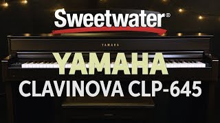 Yamaha Clavinova CLP-645 Digital Piano Review